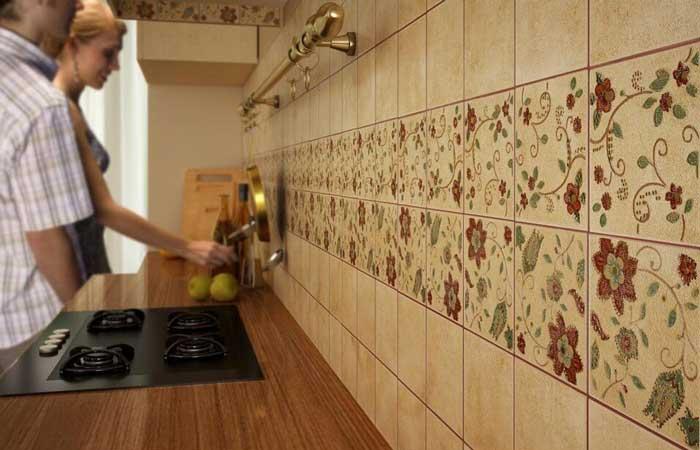 выбор плитки для фартука