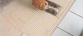 Укладка плитки с свп на стену